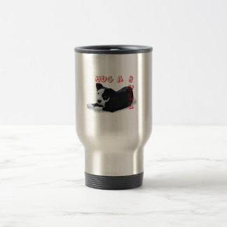 Hug-A-Bull 15 Oz Stainless Steel Travel Mug