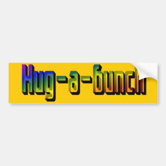 Hug-a-Bunch Bumper Sticker