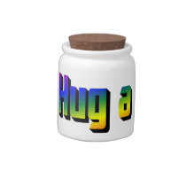 Hug a Bunch Candy Jar