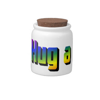 Hug a Bunch Candy Jar