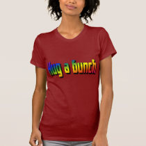Hug a Bunch Dark T-Shirt