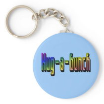 Hug-a-Bunch Keychain