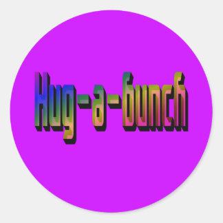 Hug-a-Bunch Stickers
