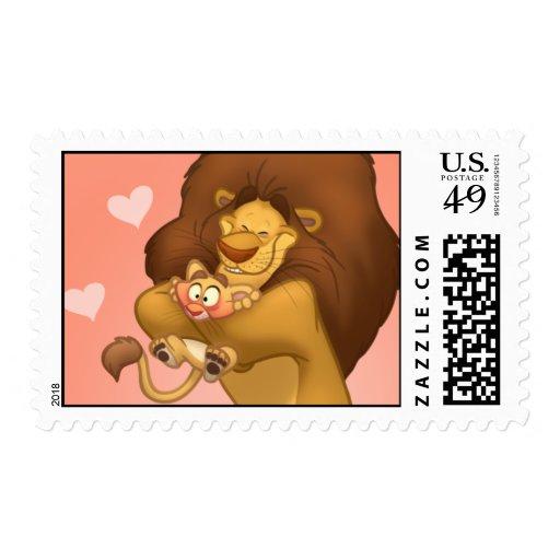Hug-a-Cub Stamps