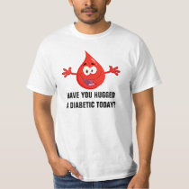 Hug a Diabetic T-Shirt