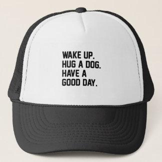 Hug a Dog Trucker Hat