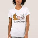Hug a Farm Animal light color T-shirt