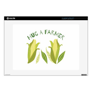 Hug A Farmer Laptop Skin