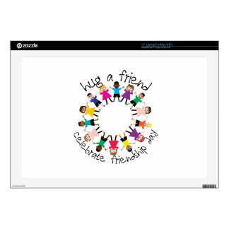 Hug A Friend Decals For Laptops