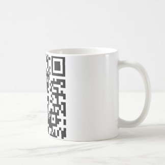 Hug A Geek QR Code Coffee Mug