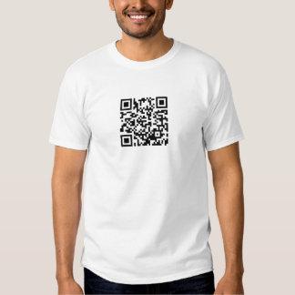 Hug A Geek QR Code Tee Shirt