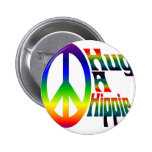 hug a hippie buttons