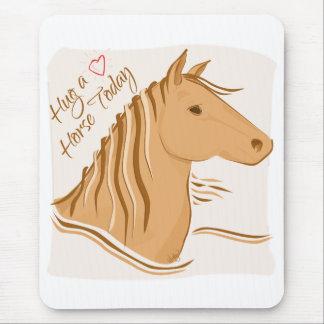 Hug a Horse Mousepad