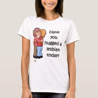 Hug A Lesbian T-Shirt