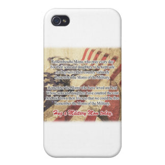 Hug a Military Mom Apron iPhone 4 Cases