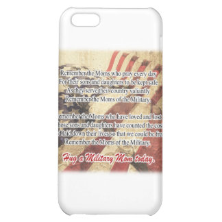 Hug a Military Mom Tote Bag iPhone 5C Cases