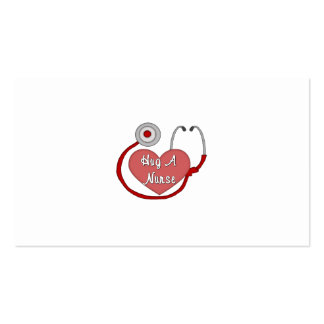 Hug A Nurse Business Cards
