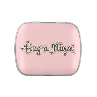 Hug a Nurse Candy Tins and Jars