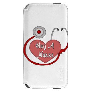 Hug A Nurse iPhone 6/6s Wallet Case