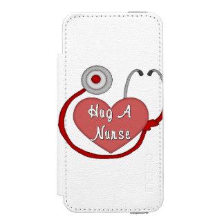 Hug A Nurse iPhone SE/5/5s Wallet Case