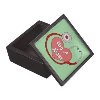 Hug A Nurse Jewelry Box
