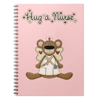 Hug a Nurse Spiral Notebooks