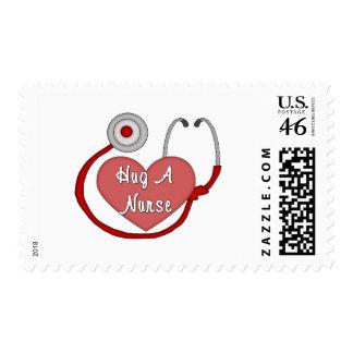 Hug A Nurse Stamps