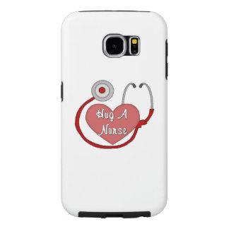 Hug A Nurse Samsung Galaxy S6 Case