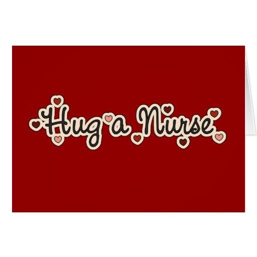 Hug a Nurse T-shirts and Gifts Card
