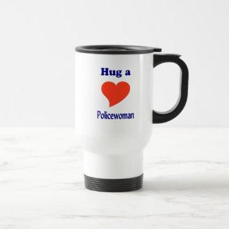 Hug a Policewoman Mug