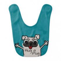 Hug a Pug Bib