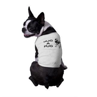 """Hug a Pug"" Doggie Tee"