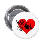 Hug A Pug Pin