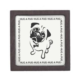 """Hug a Pug"" Trinket Box"