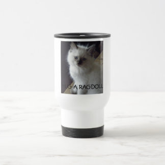 HUG A RAGDOLL TRAVEL MUG