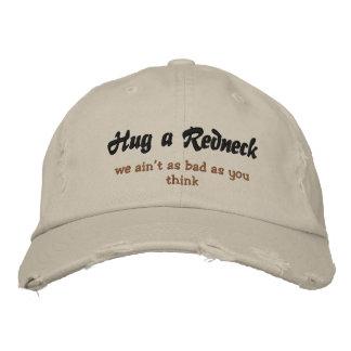 Hug a Redneck Embroidered Hats