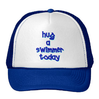 Hug A Swimmer Today Mesh Hats