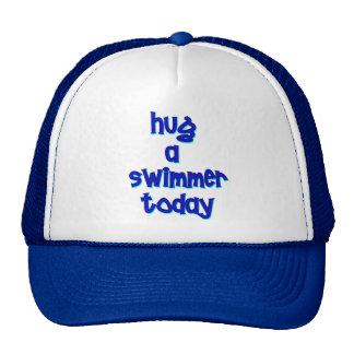 Hug A Swimmer Today Trucker Hat