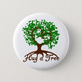 Hug a Tree Badge Button
