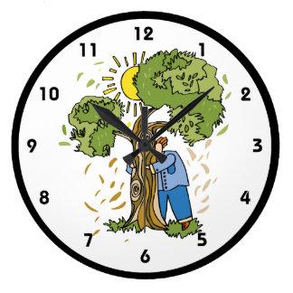 Hug a Tree Clock