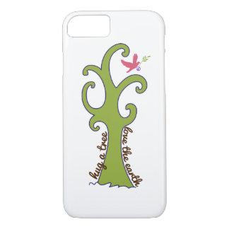 Hug a Tree, Love the Earth iPhone 7 Case