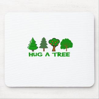 Hug a Tree Mouse Pad
