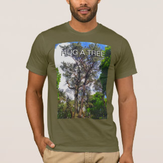 Hug A Tree Old Pine Tree T-Shirt