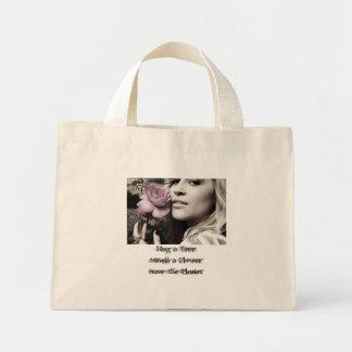 Hug a Tree,Smell a Flower,Save the Pl... Mini Tote Bag