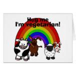 Hug a Veggie Card