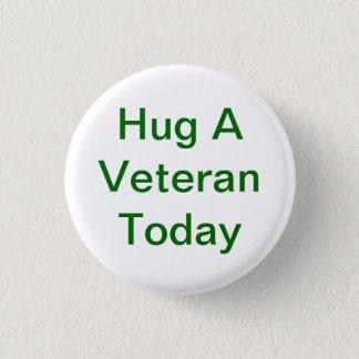 Hug A Veteran Button