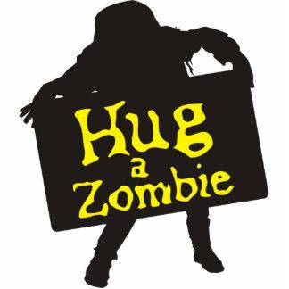 Hug a Zombie Photo Sculpture 2
