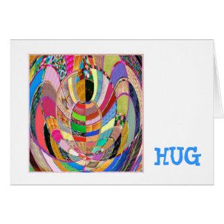 HUG - an artistic presentation Card