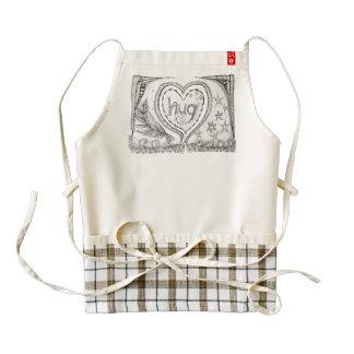 """Hug"" Apron, Zazzle HEART Supports Mothers Zazzle HEART Apron"