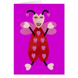 Hug Bug Greeting Card